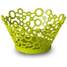 Cestino tondo milleusi forme in verde