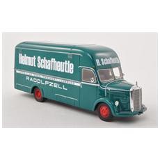 Neo46101 Mercedes O3500 Box Wagon Helmut Schafhheutie 1:43 Modellino