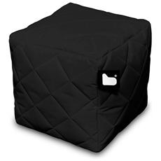 Pouf Outdoor B-box Black Trapuntato