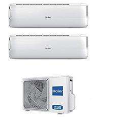 Condizionatore Fisso Dualsplit 6924362722926 DAWN R-32 Potenza 9000+12000 BTU / H Classe A++ / A+ Inverter e Wi-Fi Predisposto