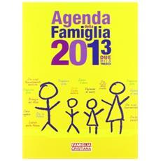 Agenda della famiglia 2013
