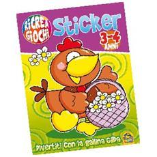 Ricrea Giochi - Sticker #02 - Divertiti Con La Gallina Gilda