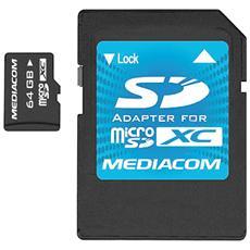 MicroSD da 64GB UHS-I + Adattatore