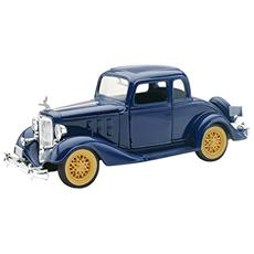 New Ray Chevy Two Passenger 5 Window Coupe Classic Collection 1:32 Art. 55153ss Lunghezza: 14,5 Cm