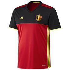 Maglia Belgio Home Euro 2016 Rosso Nero L