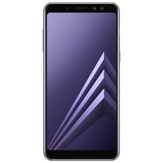 SAMSUNG - Galaxy A8 (2018) Grigio Dual Sim Display 5.6