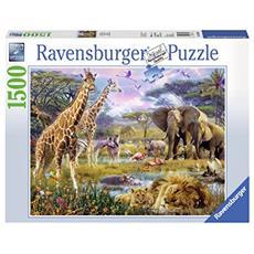 RVB16333 I Colori Dell'Africa - Puzzle da 1500 Pezzi