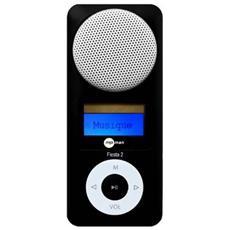 FIESTA 2 2GB, MP3, Flash-media, Nero, USB 2.0, OLED, ASF, MP3, WMA