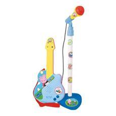 Set Microfono e Chitarra di Peppa Pig