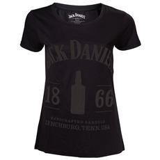Jack Daniel's - 1866 Black (T-Shirt Donna Tg. S)