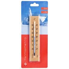 Termometro Interno / esterno In Legno Chiaro Y Arredo