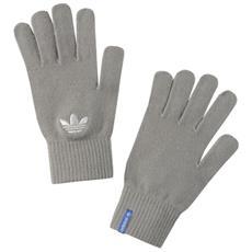 Guanti Unisex Trefoil Gloves L Grigio