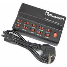 'decau'' Caricatore Veloce Usb Per Smartphone Tablet 0.5a-3.5a Fast Charger