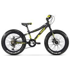 Fat Bike Lombardo Pinerolo 20 Ty21 Nero Giallo Opaco