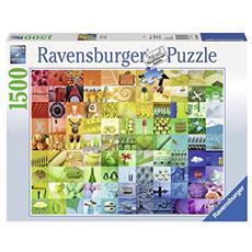 RVB16322 Oggetti Colorati - Puzzle 1500 pz