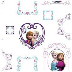 70-539, Carta Da Parati Carta Frozen Fotogrammi Di Raccolta Dei Bambini A Casa