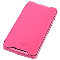Liquid Z200 Flip Cover Pink Custodia a libro Rosa