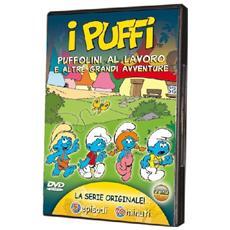 Dvd Puffi (i) - Puffolini Al Lavoro