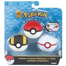 Pokemon Throw'n Catch Poke Balls