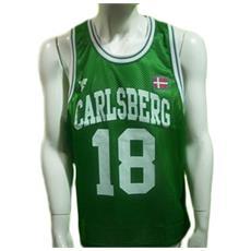 Canotta Basket Uomo Xl Verde