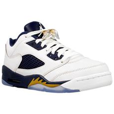 Air Jordan 5 Retro Low 314338135 Colore: Bianco-blu Marino Taglia: 36.5