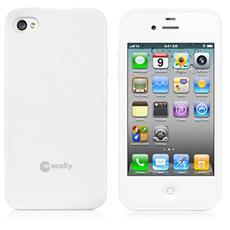 Custodia flessibile in poliuretano per iPhone 5/5s - White