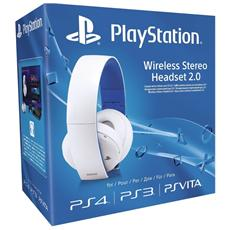 SONY - Cuffie Wireless Premium 2.0 White Limited per Ps4,...