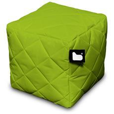 Pouf Outdoor B-box Lime Trapuntato