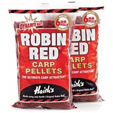 Robin Red Carp Pellets 6 Mm Unica Rosso