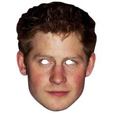 Maschera Di Cartone Del Principe Harry (taglia Unica) (prince Harry)