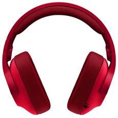 Cuffie con Microfono Connessione Cavo Colore Rosso
