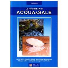 Le proprietà di acqua & sale. Gli effetti curativi della soluzione salina, il bagno salino e le lampade in salgemma cristallino