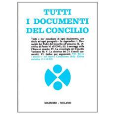 Tutti i documenti del Concilio