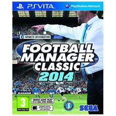 PSVITA - Football Manager Classic 2014