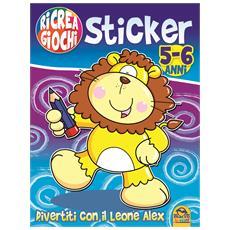 Ricrea Giochi - Sticker #04 - Divertiti Con Il Leone Alex
