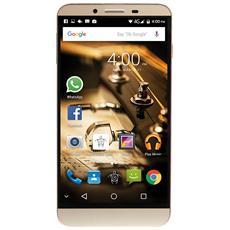 "PhonePad Duo X555U Oro 16 GB 4G/LTE Dual Sim Display 5.5"" Full HD Slot Micro SD Fotocamera 16 Mpx Android Italia"