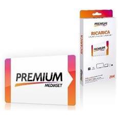 Tessera Ricaricabile Mediaset Premium con 29 Euro di Credito