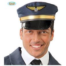 Cappello Pilota In Tessuto Cf1