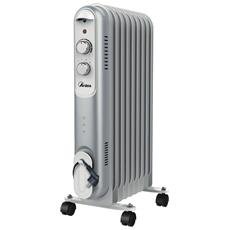 Curvy 9 Radiatore Elettrico a Olio 9 Elementi Potenza 2000 W