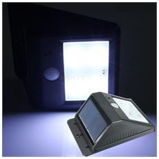 Lampada Solar Light Con Sensore Movimento Led Da Muro Lanterna Energia Solare Sole Luci Applique Porta Esterno Giardino