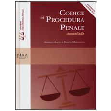 Codice di procedura penale annotato