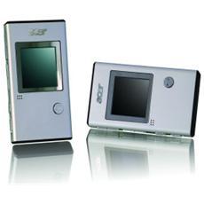 """Lettore MP3 Flash Acer MP-150 - 1 GB Memoria Flash - Argento - Visuale di Foto, Voice Recorder - 3,8 cm (1,5"""") 16000 Pixel LCD - 7 Ora"""