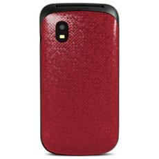 "SC330 Dual Sim Display 1.77"" Fotocamera Colore Rosso - Europa"