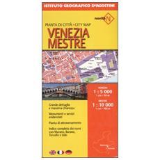 Venezia 1:5 000Mestre 1:10 000. Ediz. multilingue