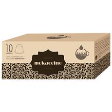GOCCE DI CAFFE - Mokaccino - 10 Capsule Compatibili Con Tutte Le...