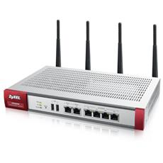 Next-Gen Security Gateway 60W. Porte: 2xWAN, 4xLAN, 2xUSB. VPN: 40 IPSec / L2TP,