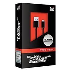 Cavo Alimentazione Aliment USB-Mini 3Mt per PS3