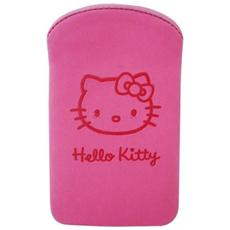 Hello Kitty Cust Uni Ipod / Touch / Iphone3G / 3Gs Nabuk Fucsia