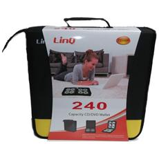 Borsa Porta Cd-dvd 240 Posti Linq