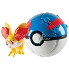 Figure Fennekin + Great Ball